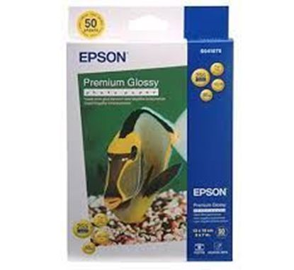 Зображення Бумага Epson 130mmx180mm Premium Glossy Photo Paper