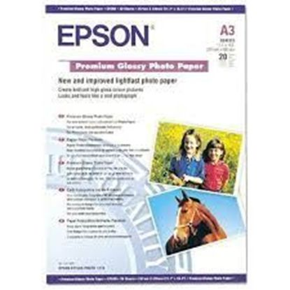 Изображение Бумага Epson A3 Premium Glossy Photo Paper