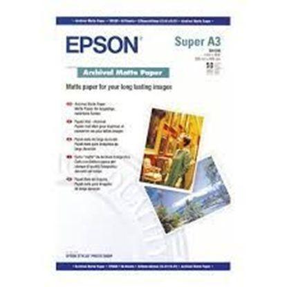 Зображення Бумага Epson A3+ Archival Matte Paper