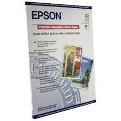 Зображення Бумага Epson A3 Premium Semigloss Photo Paper