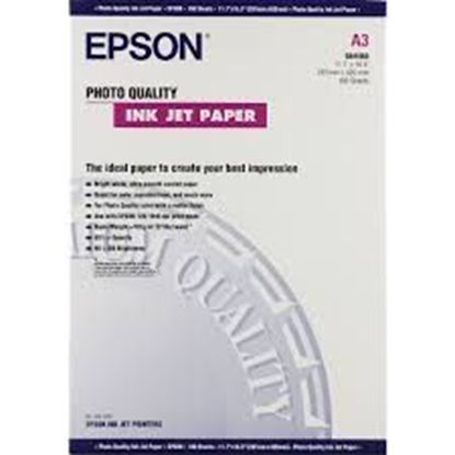 Зображення Бумага Epson A3 Photo Quality Ink Jet Paper