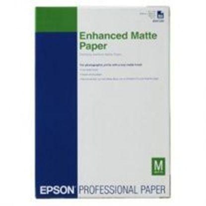 Зображення Бумага Epson A3+ Enhanced Matte Paper