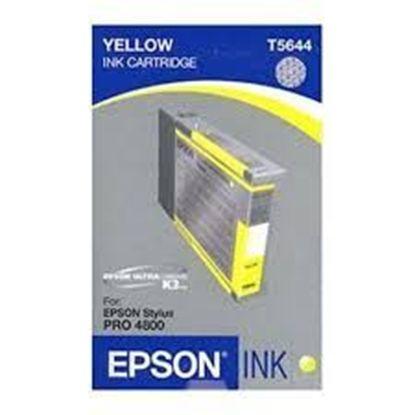 Зображення Картридж EPSON Stylus PRO 4800 yellow 110ml
