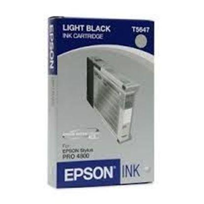 Зображення Картридж EPSON Stylus PRO 4800 light black, 110мл
