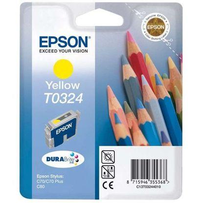 Зображення Картридж Epson StC70/C80 yellow
