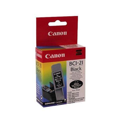 Зображення Картридж Canon BCI-21Bk Black для BJC-2000/2100/4000/4100/4200/4300/4400/4550/4650/5100/5500, BJ-S100, MultiPASS C20/C50/C70/C75/C80, FAX-B210C/215C/230C