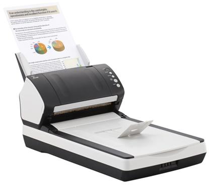 Зображення Документ-сканер A4 Fujitsu fi-7280 (встроенный планшет)