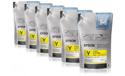 Изображение Чорнила Epson для SC-B6000/B7000 Yellow (1Lx6packs)