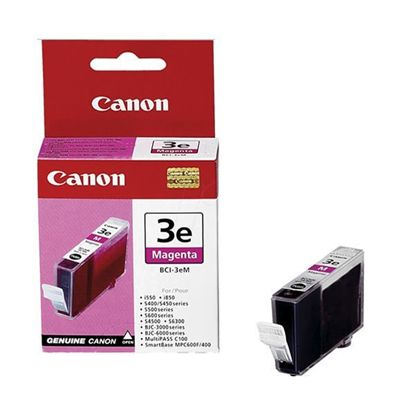 Зображення Картридж Canon  BCI-3eM Magenta для BJC-3000/6000/6100/6200/6500, BJ-i550/i850/i6500, S400/450/4500/500/520/600/630/6300/750, SmartBase MPC400/600F/MP700Photo/MP730Photo