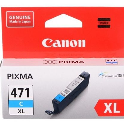 Изображение Картридж Canon CLI-471C XL PIXMA MG5740/MG6840 Cyan