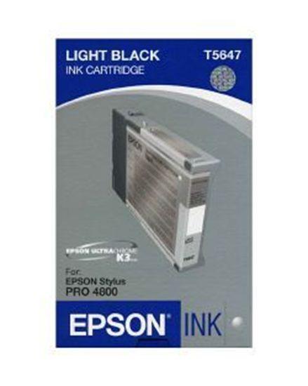 Зображення Картридж EPSON Stylus PRO 4800 light light black, 110мл