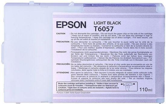 Изображение Картридж Epson StPro 4800/ 4880 light black, 110мл