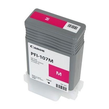 Изображение Картридж пурпурный (на основе водорастворимых чернил) PFI-107 Magenta (iPF680, iPF685, iPF780 и iPF785), 130 ml